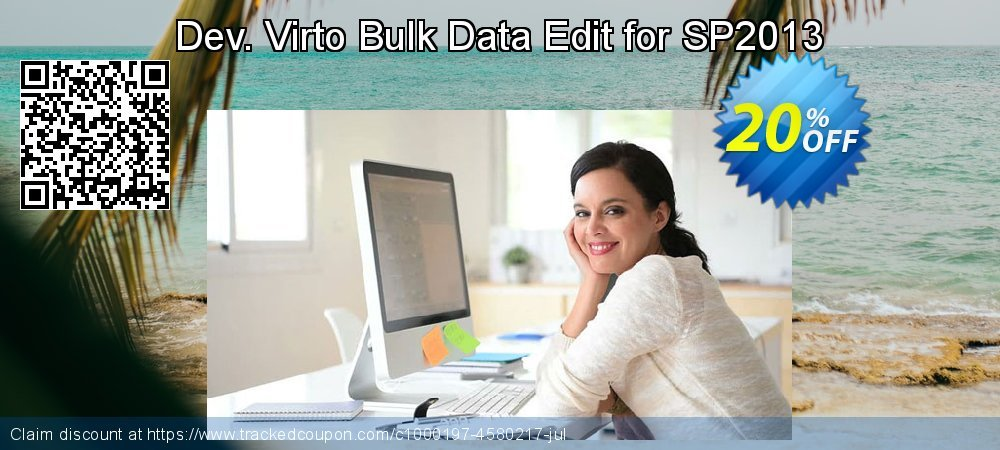 Dev. Virto Bulk Data Edit for SP2013 coupon on New Year's Day promotions