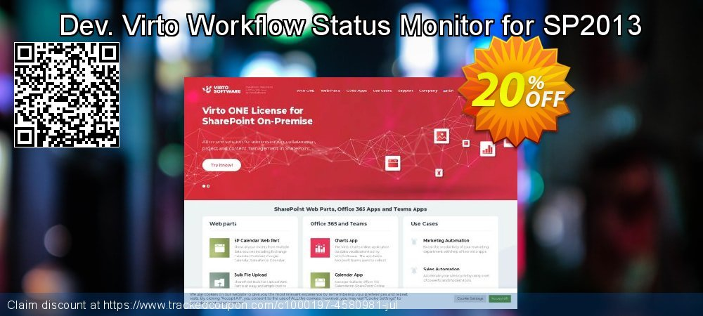 Dev. Virto Workflow Status Monitor for SP2013 coupon on New Year's Day discounts