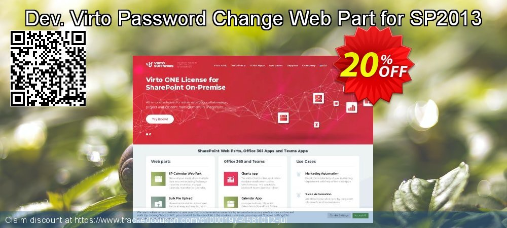 Dev. Virto Password Change Web Part for SP2013 coupon on New Year offer
