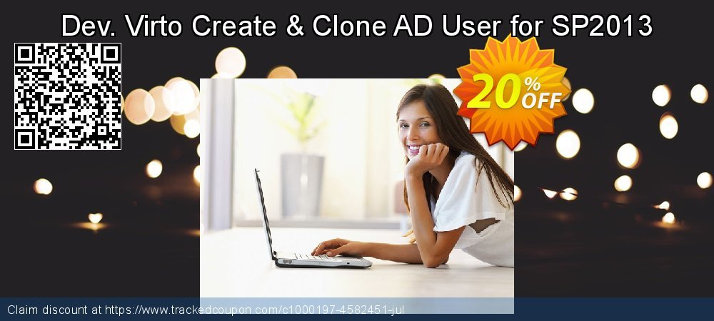 Dev. Virto Create & Clone AD User for SP2013 coupon on Lunar New Year deals