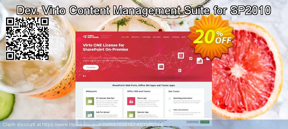 Dev. Virto Content Management Suite for SP2010 coupon on Happy New Year offering sales