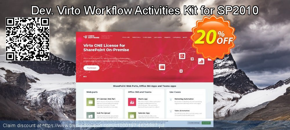 Dev. Virto Workflow Activities Kit for SP2010 coupon on Lunar New Year discount