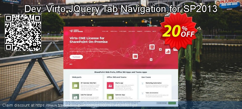 Dev. Virto JQuery Tab Navigation for SP2013 coupon on Lunar New Year discounts
