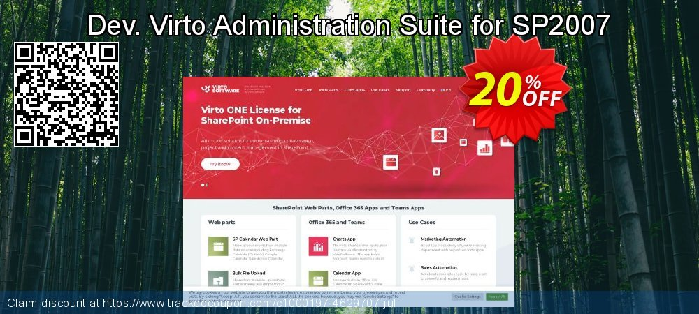 Dev. Virto Administration Suite for SP2007 coupon on Lunar New Year discounts