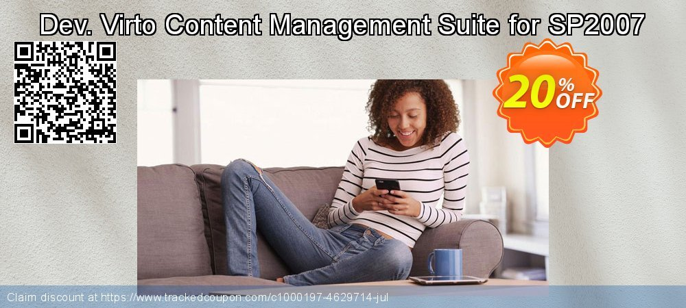 Dev. Virto Content Management Suite for SP2007 coupon on Happy New Year offering sales