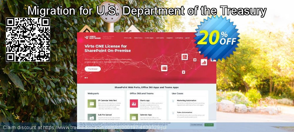 Migration for U.S. Department of the Treasury coupon on New Year's Day promotions