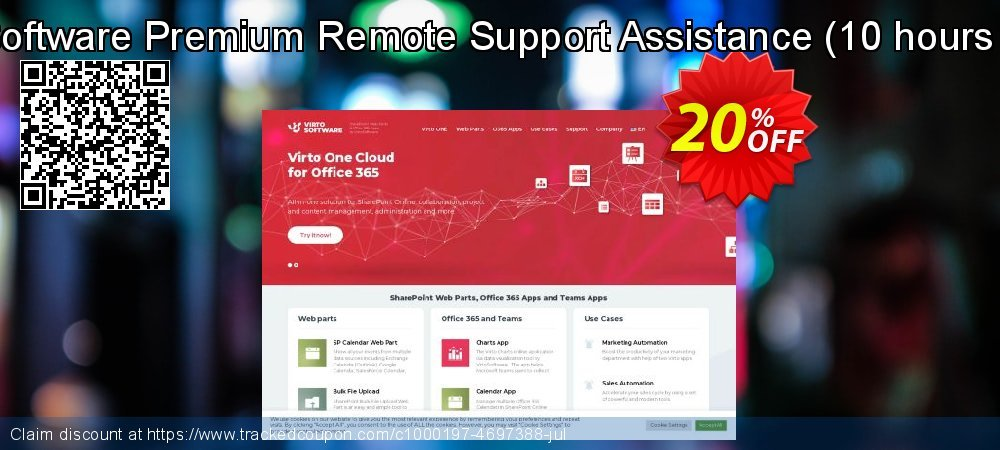 VirtoSoftware Premium Remote Support Assistance - 10 hours pack  coupon on April Fool's Day offer