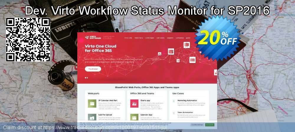 Dev. Virto Workflow Status Monitor for SP2016 coupon on Lunar New Year offering sales