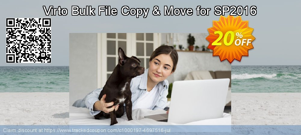 Get 10% OFF Virto Bulk File Copy & Move for SP2016 offering discount