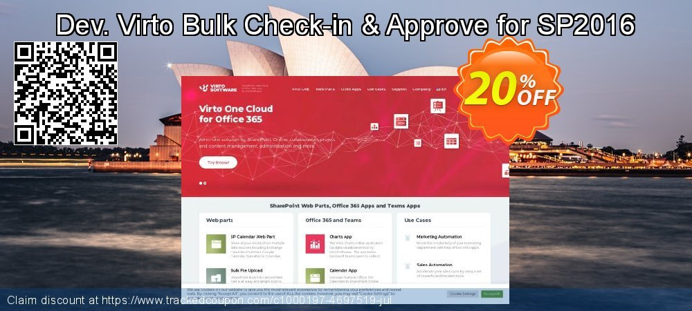 Dev. Virto Bulk Check-in & Approve for SP2016 coupon on Lunar New Year offering discount