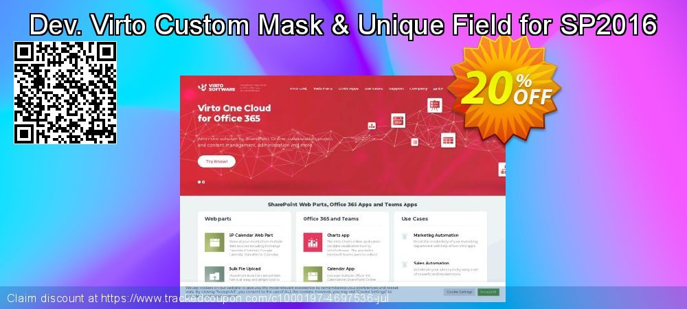 Dev. Virto Custom Mask & Unique Field for SP2016 coupon on New Year discount