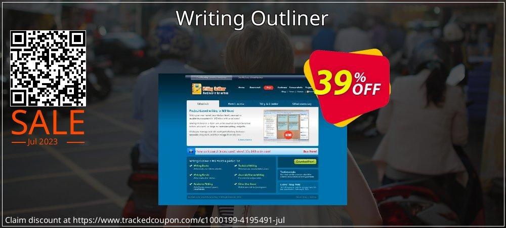 Get 38% OFF Writing Outliner offering sales