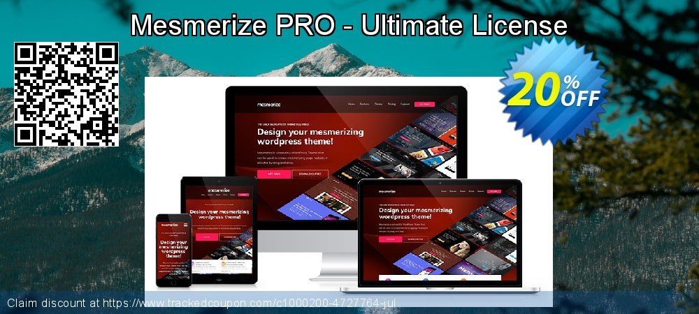 Get 20% OFF Mesmerize PRO - Ultimate License offering sales