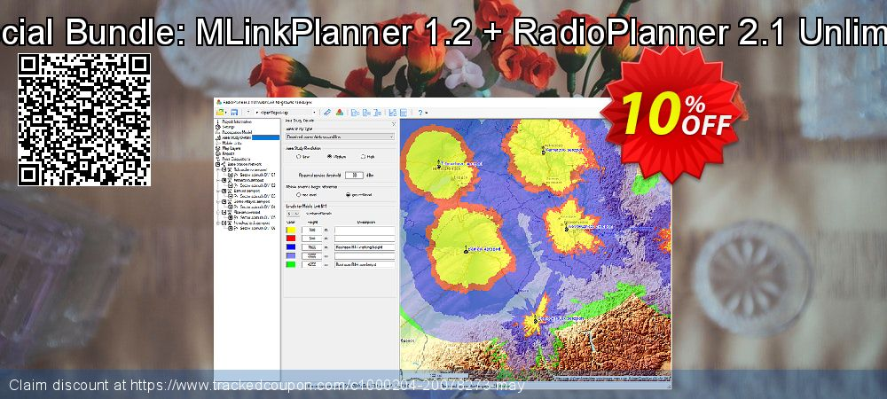 Special Bundle: MLinkPlanner 1.2 + RadioPlanner 2.1 Unlimited coupon on Mid-year offering discount