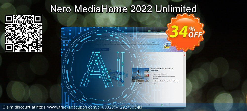 Nero MediaHome 2020 Unlimited coupon on Thanksgiving discounts