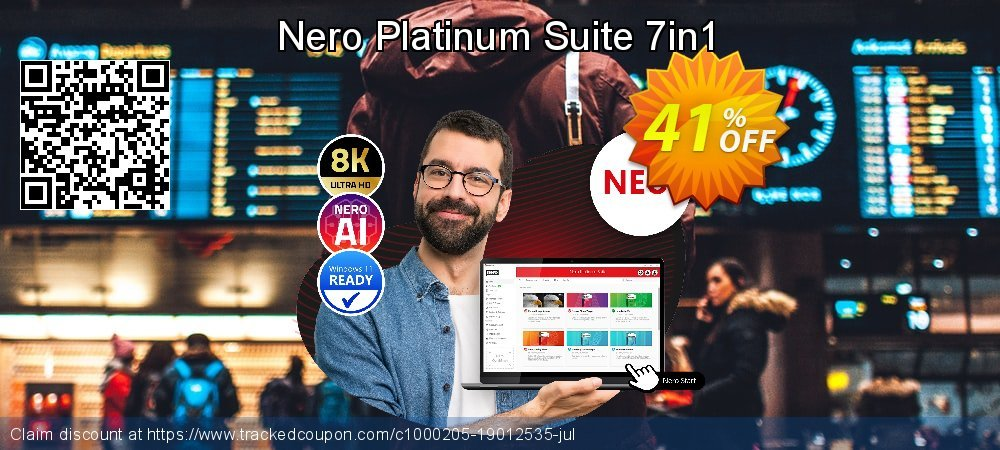Get 77% OFF Nero Platinum Suite 7in1 offering sales