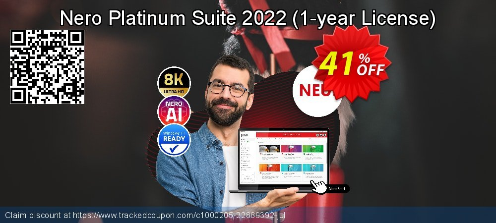 Nero Platinum Suite - 1-year License  coupon on University Student offer offering discount