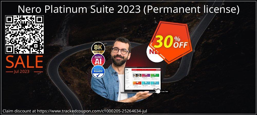 Nero Platinum Suite - Permanent license  coupon on Teacher deals offer
