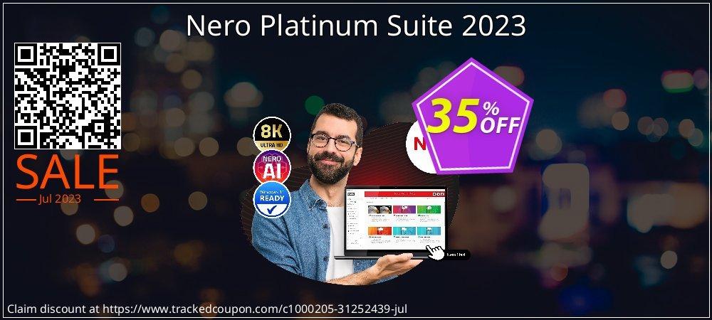 Nero Platinum Suite 2021 coupon on Exclusive Teacher discount promotions