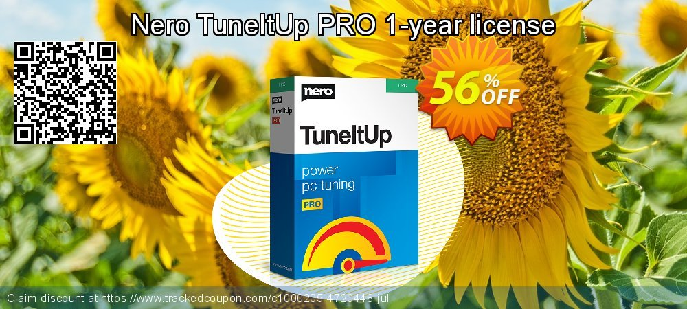 Get 30% OFF Nero TuneItUp PRO - 1-year license/yearly subscription promo