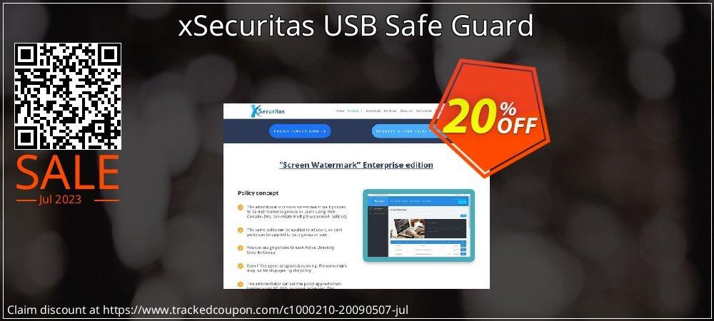 xSecuritas USB Safe Guard coupon on Mothers Day discount