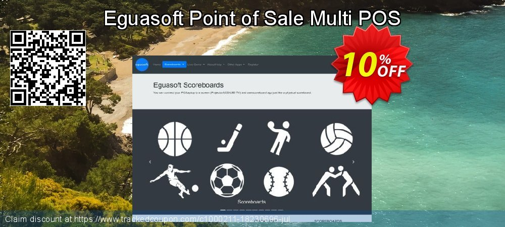 Eguasoft Point of Sale Multi POS coupon on Back to School coupons deals