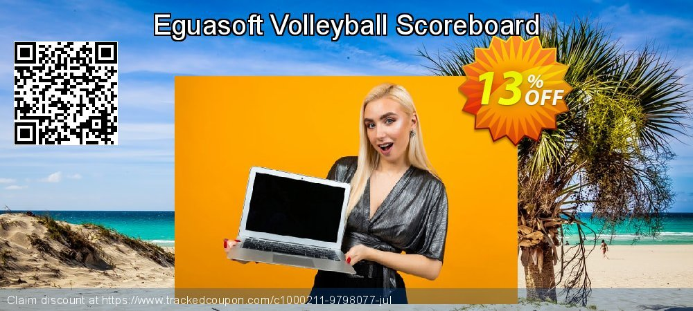 Eguasoft Volleyball Scoreboard coupon on New Year's Day super sale