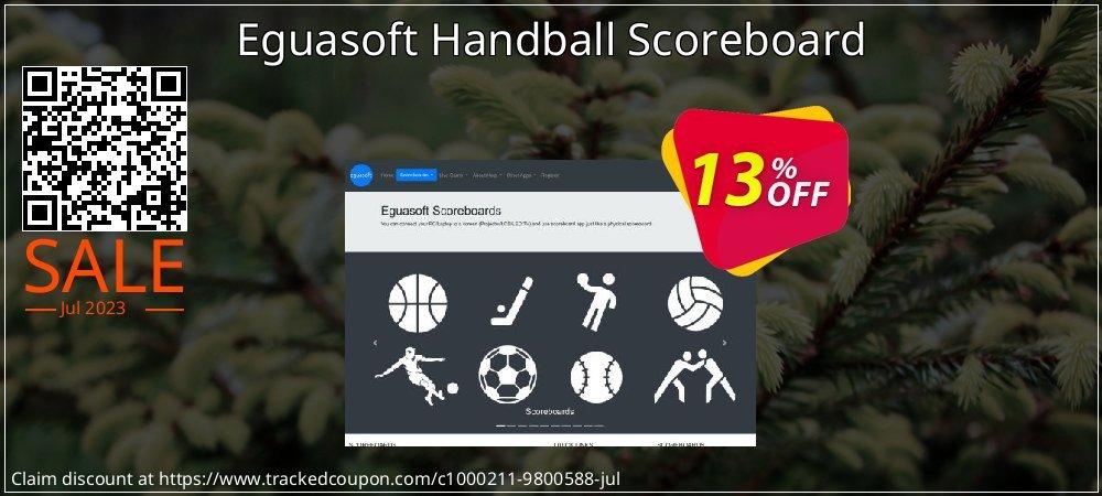 Eguasoft Handball Scoreboard coupon on New Year super sale
