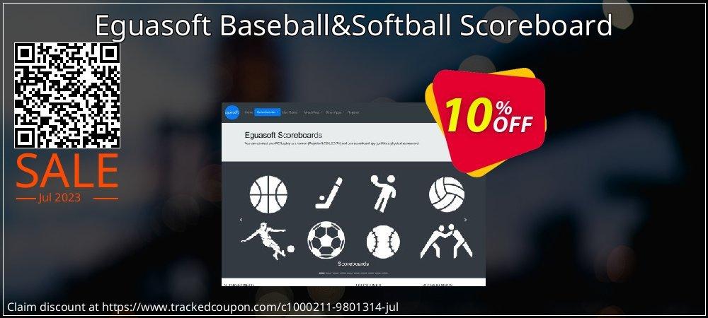 Get 10% OFF Eguasoft Baseball&Softball Scoreboard discount