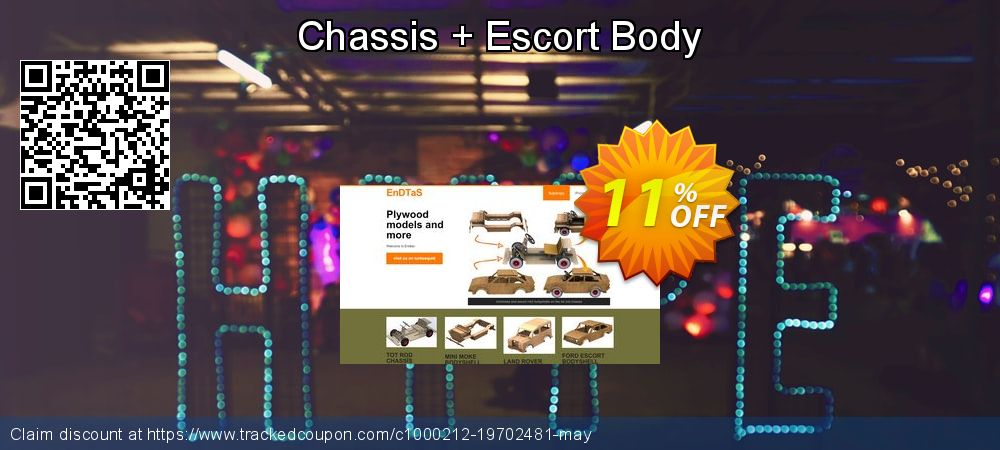 Get 10% OFF Chassis + Escort Body promo