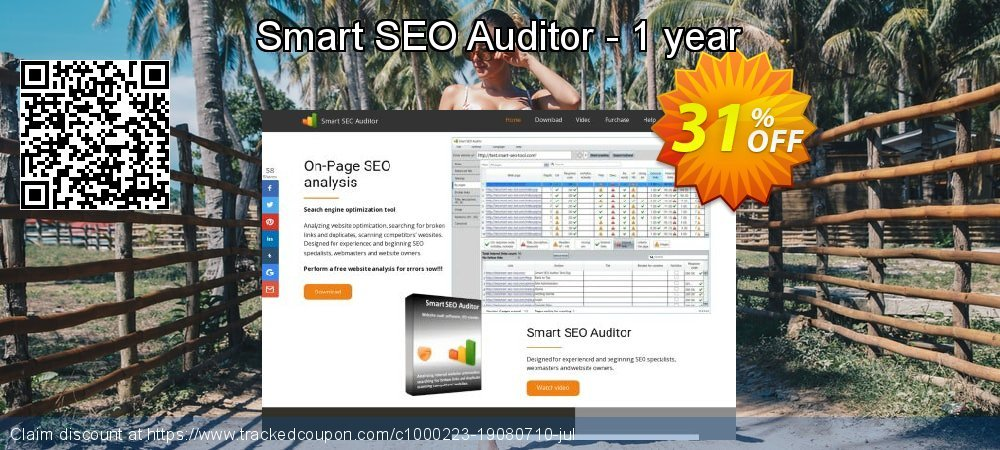 Smart SEO Auditor - 1 year coupon on Mom Day deals