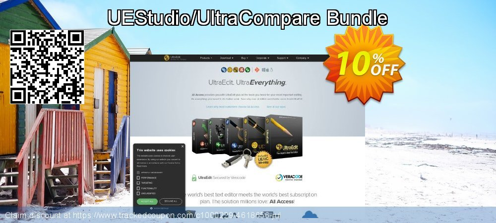 UEStudio/UltraCompare Bundle coupon on  Lover's Day offering sales
