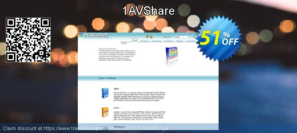 1AVShare coupon on Natl. Doctors' Day sales