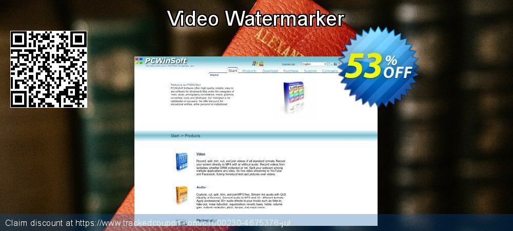 Video Watermarker coupon on Natl. Doctors' Day sales