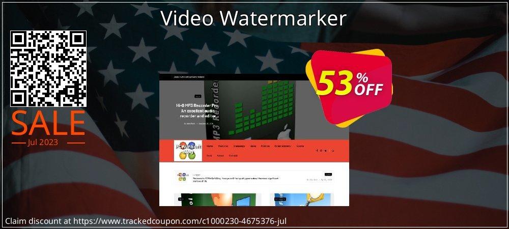 Get 50% OFF Video Watermarker sales