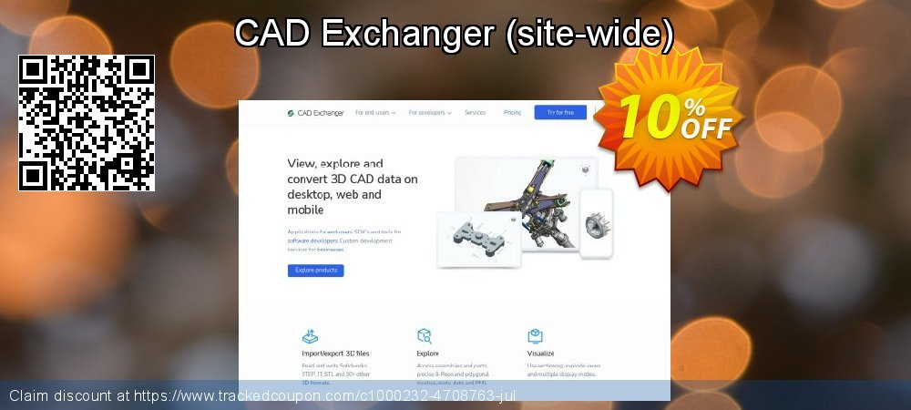 CAD Exchanger - site-wide  coupon on Mothers Day deals