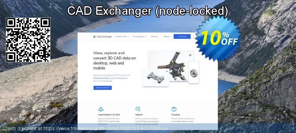 CAD Exchanger - node-locked  coupon on Mom Day sales