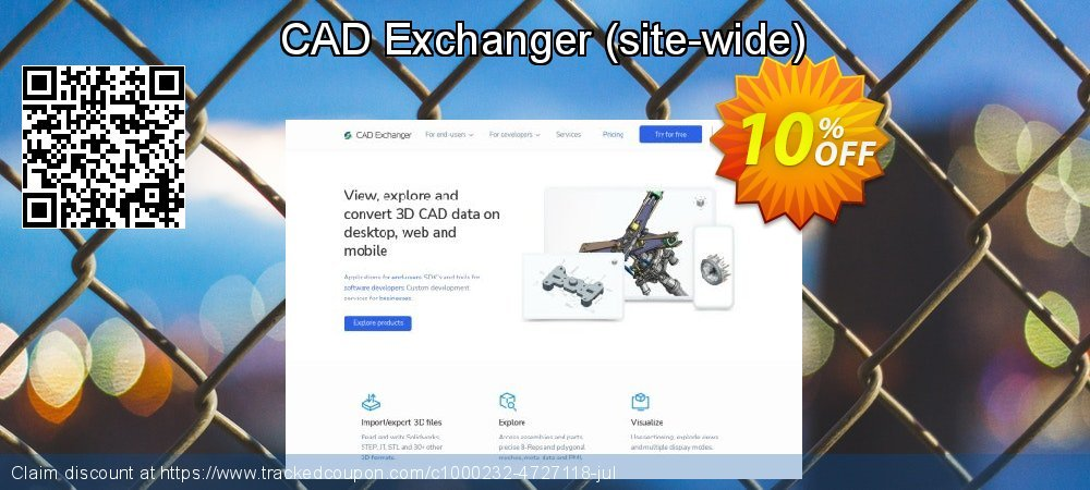 CAD Exchanger - site-wide  coupon on Mom Day offering sales