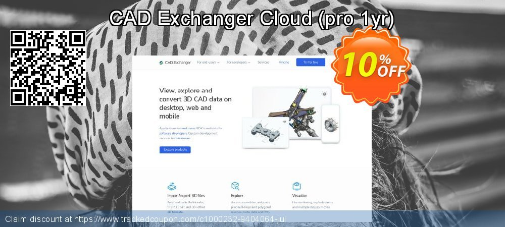 CAD Exchanger Cloud - pro 1yr  coupon on Mom Day offer