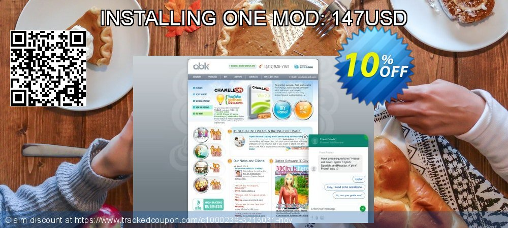 Get 10% OFF INSTALLING ONE MOD: 147USD offering sales