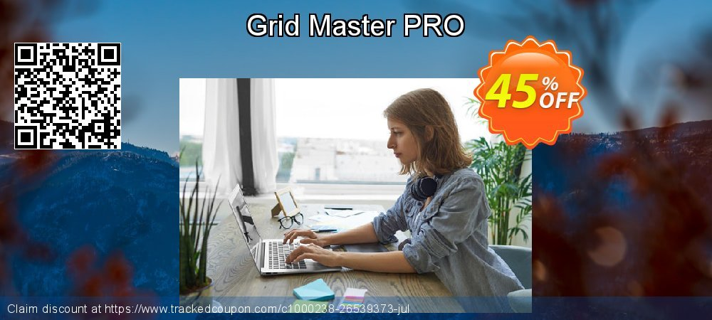 Grid Master PRO coupon on New Year's Day super sale