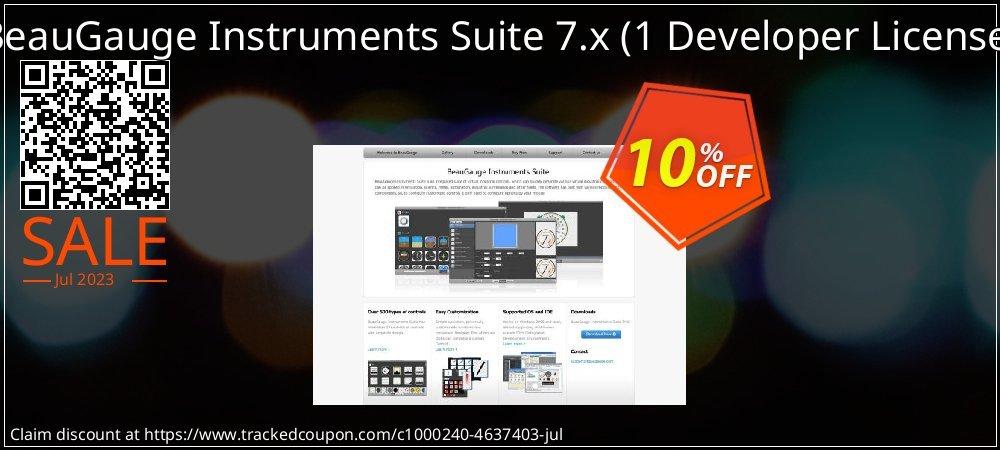 BeauGauge Instruments Suite 7.x - 1 Developer License  coupon on Lunar New Year super sale