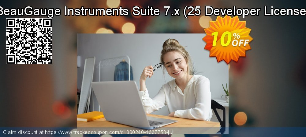 BeauGauge Instruments Suite 7.x - 25 Developer License  coupon on New Year's Day offering sales