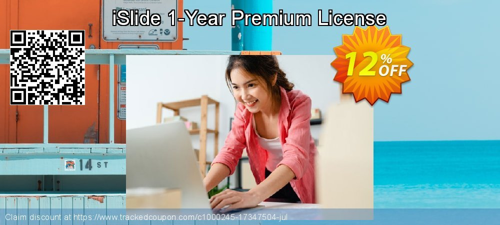 iSlide 1-Year Premium License coupon on Native American Day offering sales