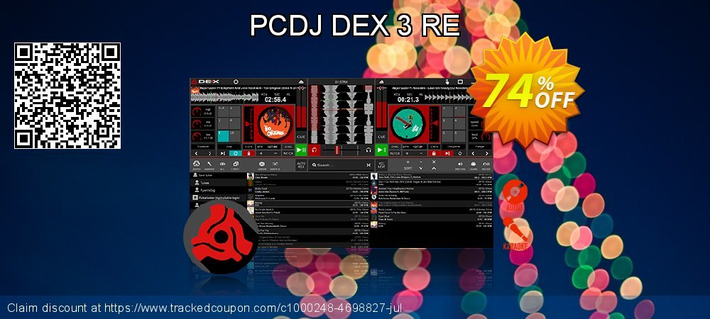 Get 42% OFF PCDJ DEX 3 RE offering sales