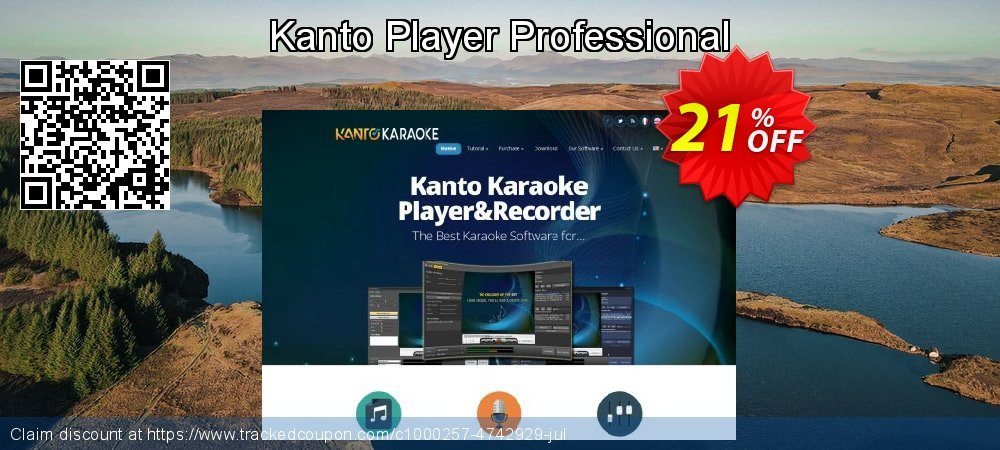 Kanto Player Professional coupon on Mothers Day deals