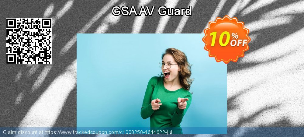 GSA AV Guard coupon on Mom Day promotions