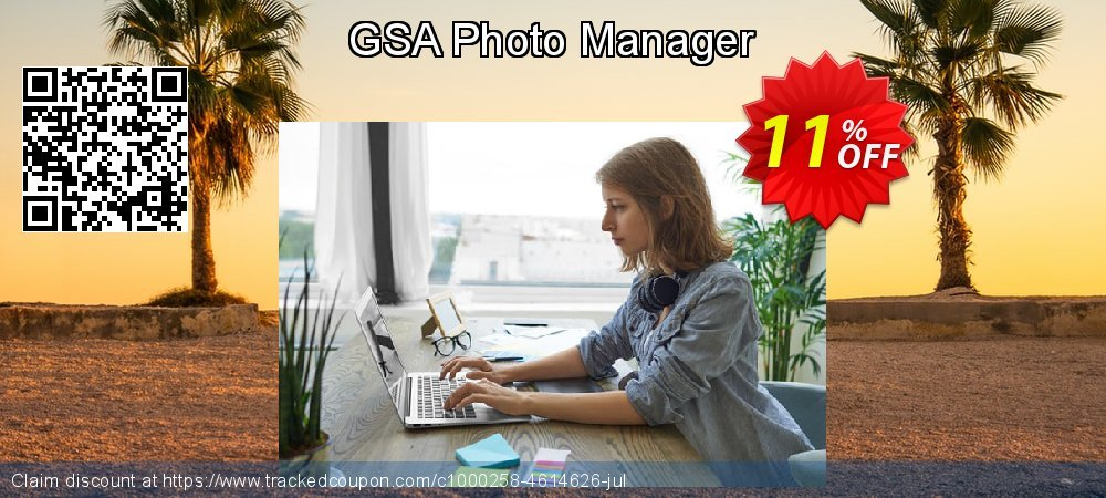 GSA Photo Manager coupon on Mom Day discount