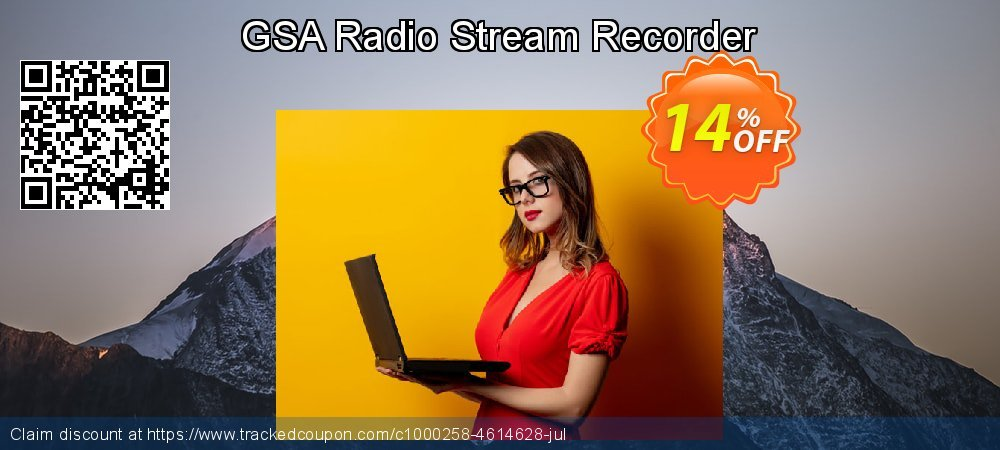 GSA Radio Stream Recorder coupon on Mom Day offering sales