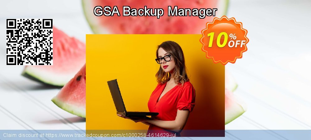 GSA Backup Manager coupon on Mothers Day super sale